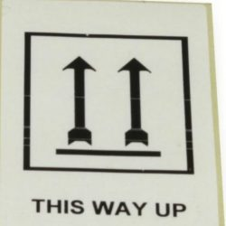 Label ¨ this way up